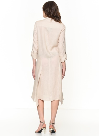 Si Design Elbise Bej